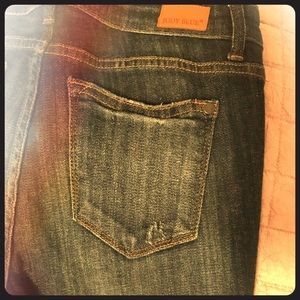 Distressed Judy Blue jeans, size 9